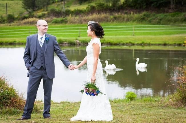Rustic Chic Farm Wedding {Dustin Weiss Photography} 13