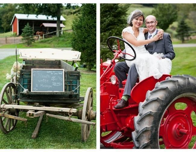 Rustic Chic Farm Wedding {Dustin Weiss Photography} 14