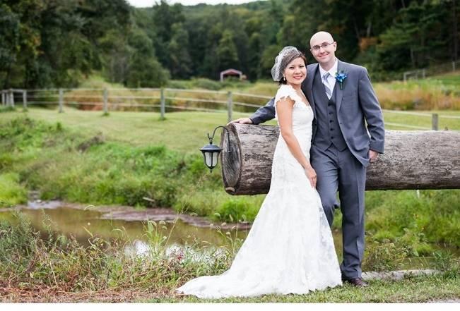 Rustic Chic Farm Wedding {Dustin Weiss Photography} 15