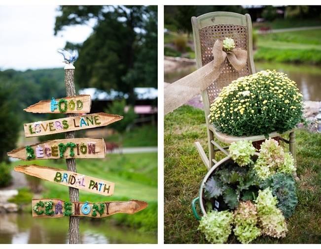 Rustic Chic Farm Wedding {Dustin Weiss Photography} 18