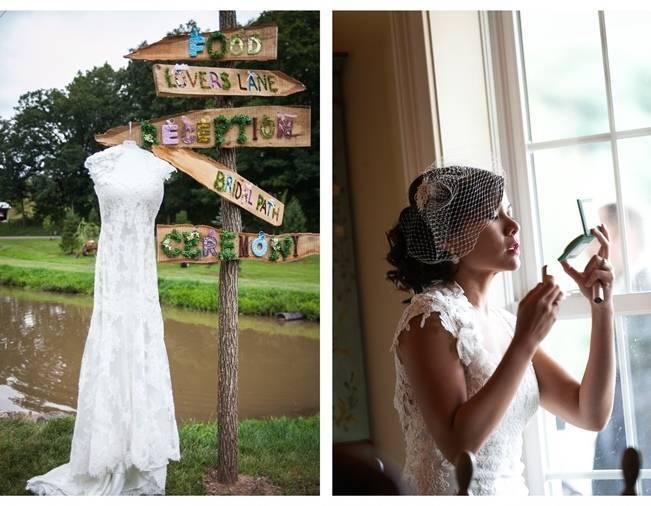 Rustic Chic Farm Wedding {Dustin Weiss Photography} 2