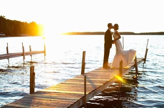 Rustic Minnesota Lakeside Wedding {Erin Johnson Photography} 1