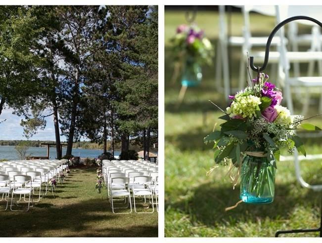 Rustic Minnesota Lakeside Wedding {Erin Johnson Photography} 11
