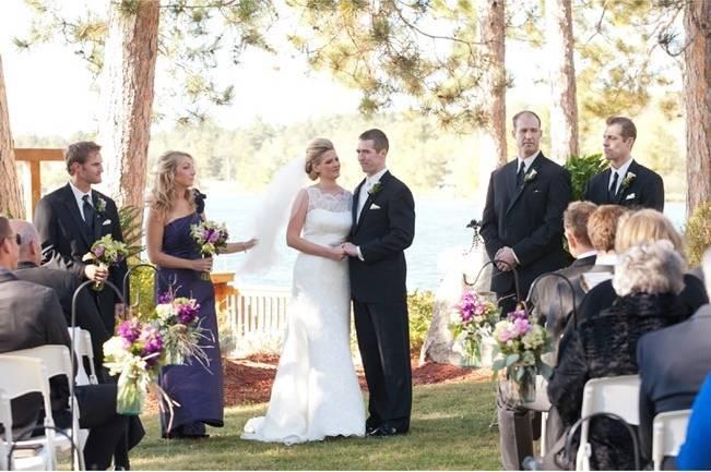 Rustic Minnesota Lakeside Wedding {Erin Johnson Photography} 12