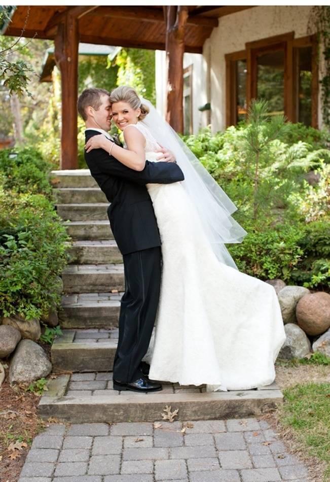 Rustic Minnesota Lakeside Wedding {Erin Johnson Photography} 15