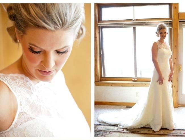 Rustic Minnesota Lakeside Wedding {Erin Johnson Photography} 2