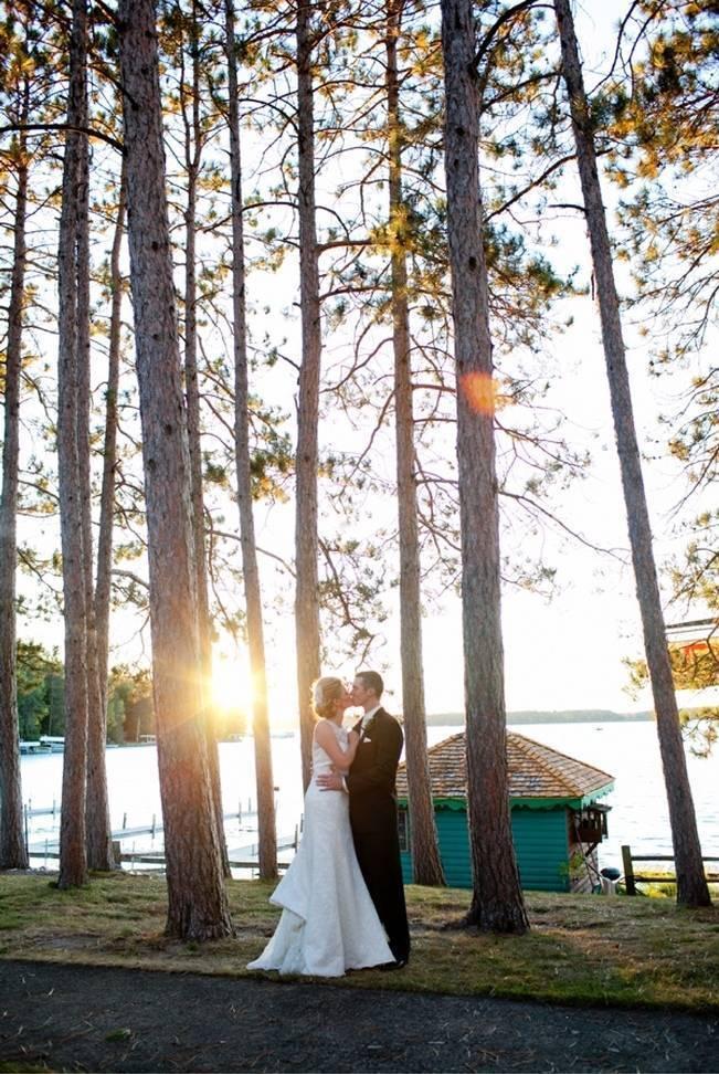 Rustic Minnesota Lakeside Wedding {Erin Johnson Photography} 29