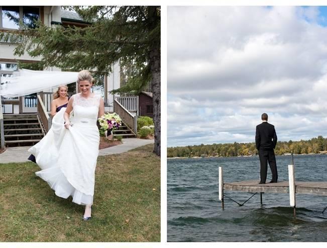 Rustic Minnesota Lakeside Wedding {Erin Johnson Photography} 4