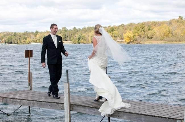 Rustic Minnesota Lakeside Wedding {Erin Johnson Photography} 5