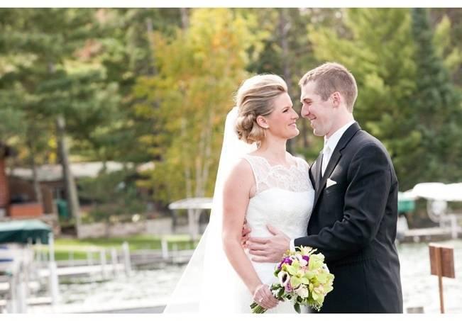 Rustic Minnesota Lakeside Wedding {Erin Johnson Photography} 6