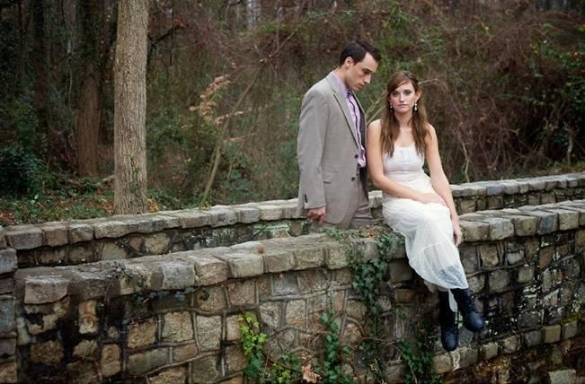 Rustic Snow White Wedding Inspiration Shoot 13