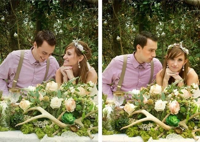 Rustic Snow White Wedding Inspiration Shoot 6