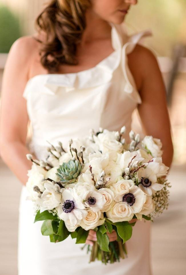 Wedding Flower Inspiration: Pussy Willows