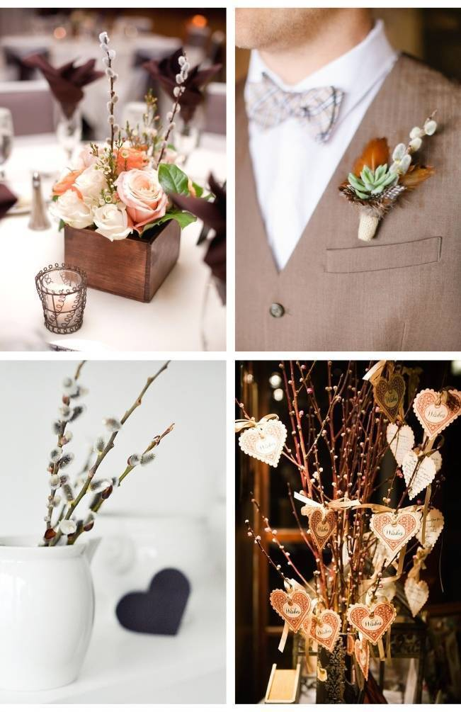 Wedding Flower Inspiration Pussy Willows 4