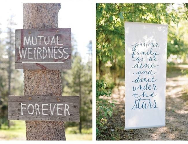16 Awesome Rustic Wedding Signs 10