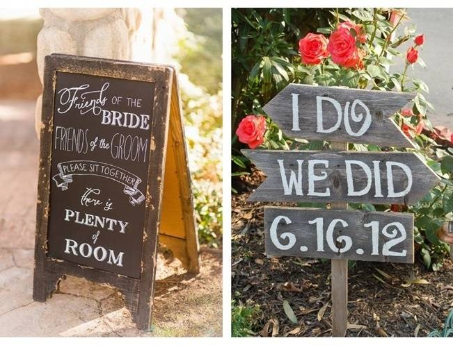 16 Awesome Rustic Wedding Signs 4