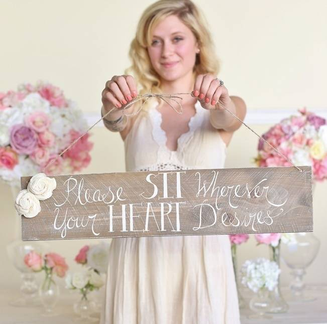 16 Awesome Rustic Wedding Signs 9