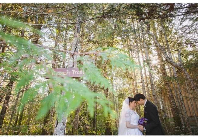 British Columbia Wilderness Lodge Wedding {Modern Romance Productions} 16