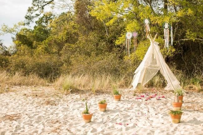Coachella Inspired Wedding Shoot {Macon Photography} 10