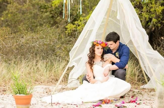 Coachella Inspired Wedding Shoot {Macon Photography} 12