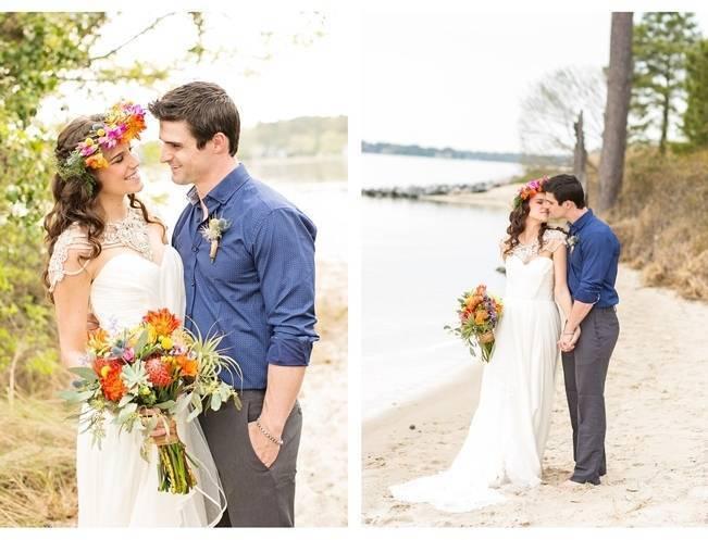Coachella Inspired Wedding Shoot {Macon Photography} 14