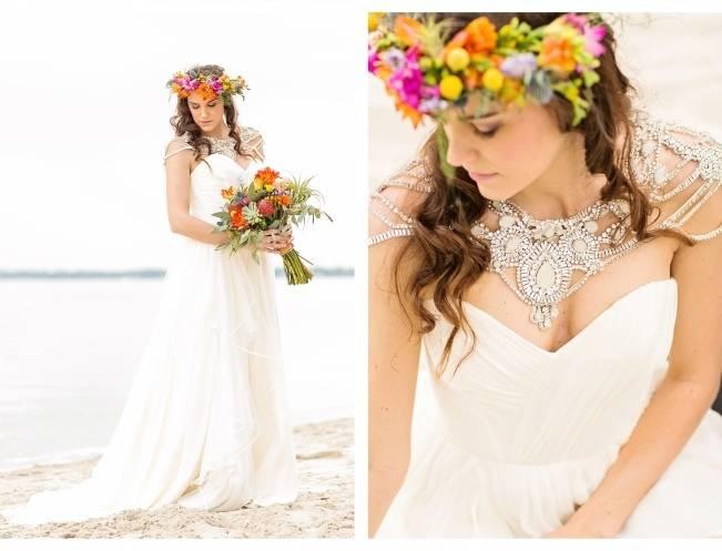 Coachella Inspired Wedding Shoot {Macon Photography} 9