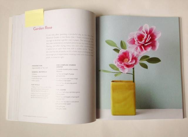 Livia Cetti - The Exquisite Book of Paper Flowers - Review 1