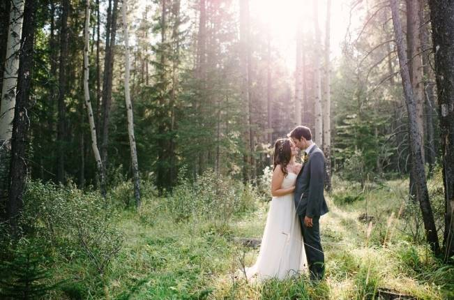Rustic Canadian Mountain Wedding {Milton Photography} 10