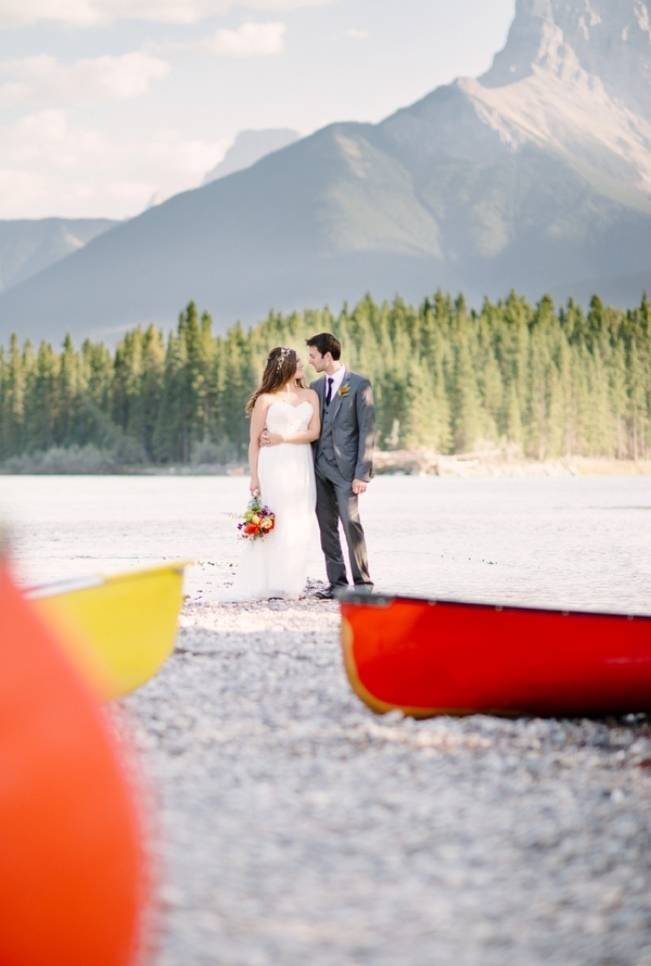 Rustic Canadian Mountain Wedding {Milton Photography} 12