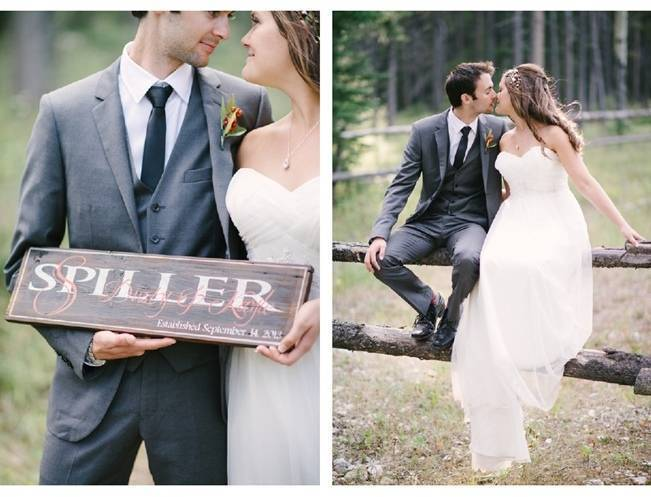 Rustic Canadian Mountain Wedding {Milton Photography} 15