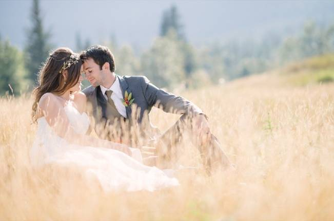 Rustic Canadian Mountain Wedding {Milton Photography} 16