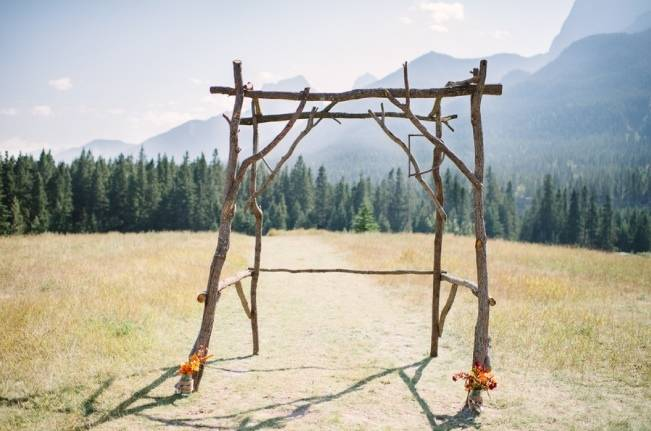 Rustic Canadian Mountain Wedding {Milton Photography} 3