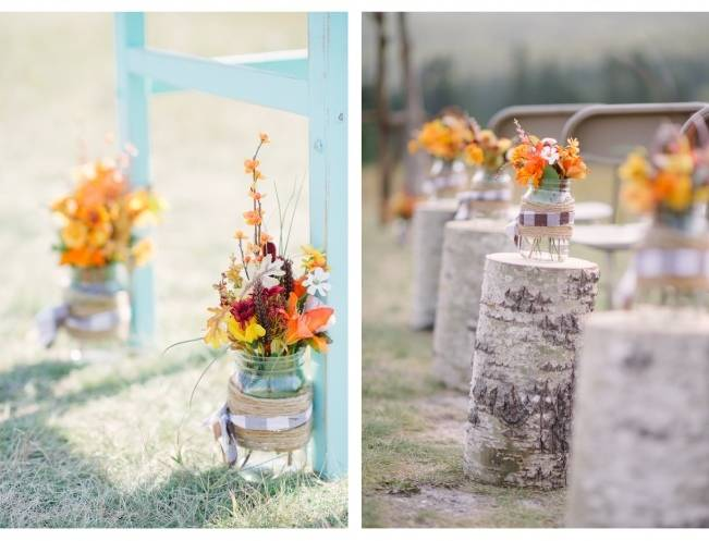 Rustic Canadian Mountain Wedding {Milton Photography} 4
