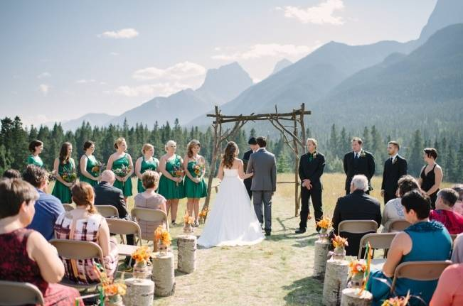 Rustic Canadian Mountain Wedding {Milton Photography} 5