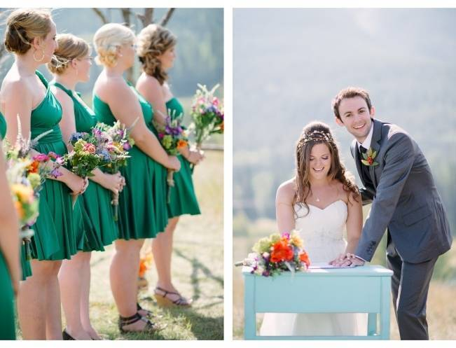 Rustic Canadian Mountain Wedding {Milton Photography} 7