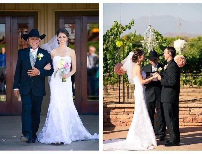 Rustic DIY Vineyard Wedding {Lisa Ormsby Photography} 13