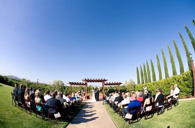 Rustic DIY Vineyard Wedding {Lisa Ormsby Photography} 14