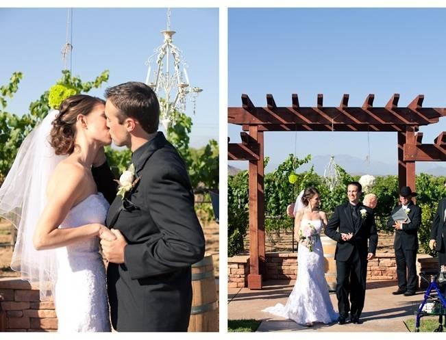 Rustic DIY Vineyard Wedding {Lisa Ormsby Photography} 15