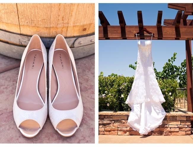 Rustic DIY Vineyard Wedding {Lisa Ormsby Photography} 2