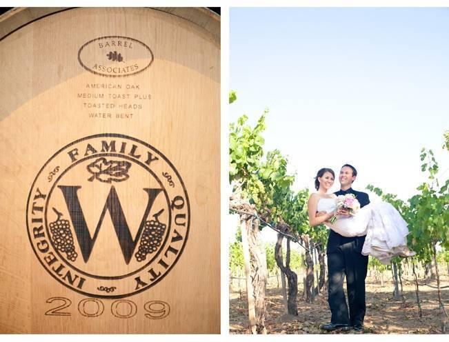 Rustic DIY Vineyard Wedding {Lisa Ormsby Photography} 21