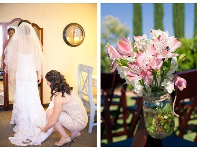 Rustic DIY Vineyard Wedding {Lisa Ormsby Photography} 4