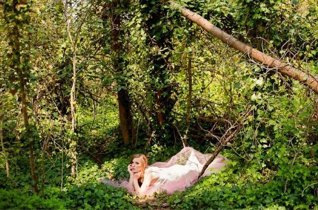 Sleeping Beauty Inspired Bridal Shoot {Kait Winston Photography} 3