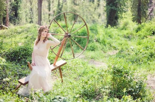 Sleeping Beauty Inspired Bridal Shoot {Kait Winston Photography} 7