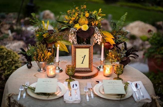 Vintage-Inspired Yellow Garden Styled Wedding {Carina Photographics} 15
