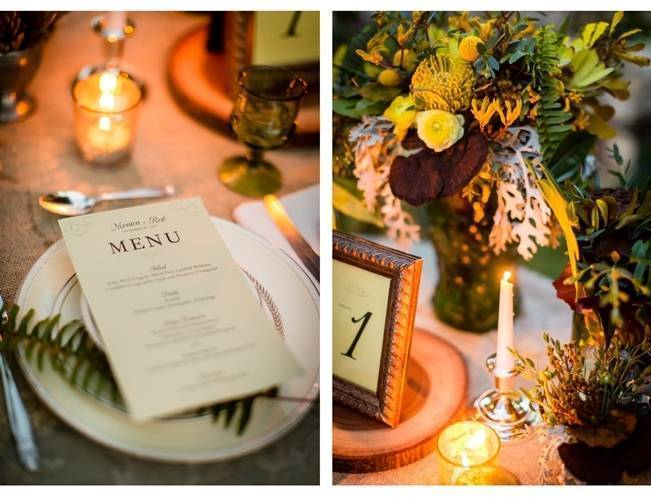 Vintage-Inspired Yellow Garden Styled Wedding {Carina Photographics} 16