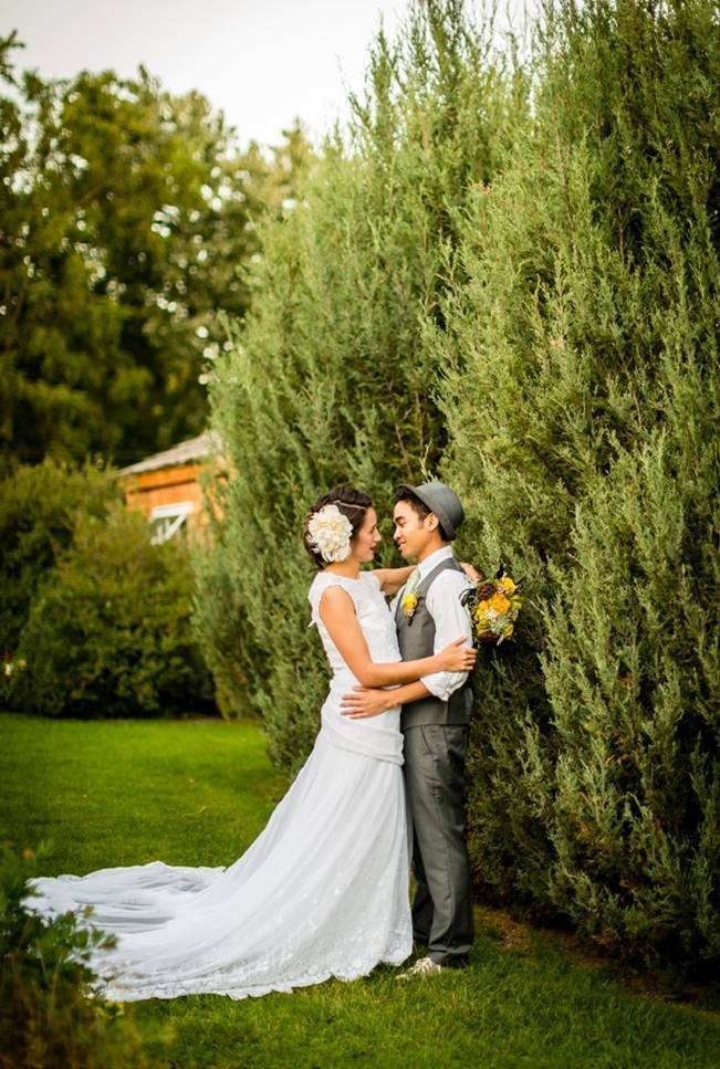 Vintage-Inspired Yellow Garden Styled Wedding {Carina Photographics} 19