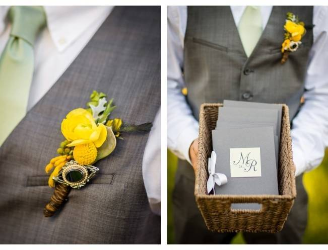 Vintage-Inspired Yellow Garden Styled Wedding {Carina Photographics} 4