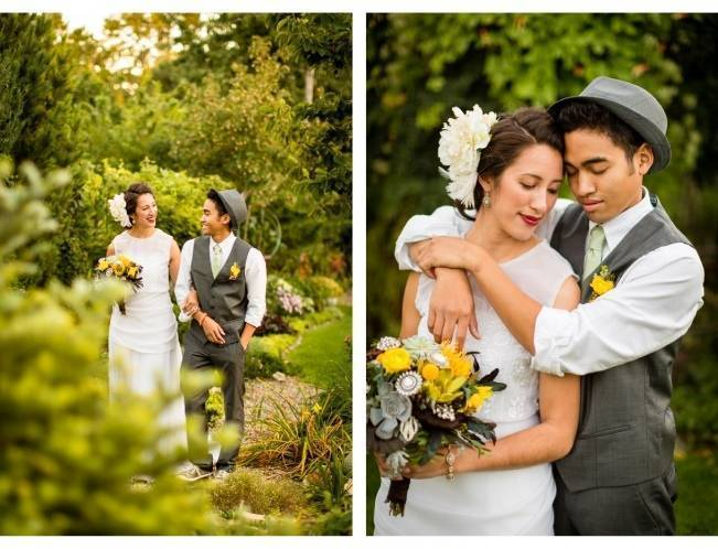 Vintage-Inspired Yellow Garden Styled Wedding {Carina Photographics} 6