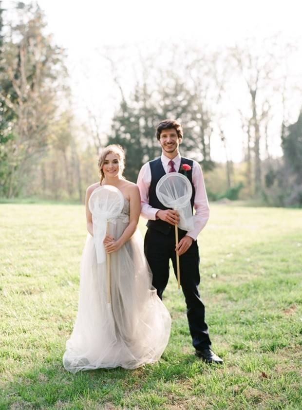 Bright Star Butterfly Inspired Shoot {Marta Locklear Photography} 15