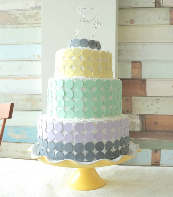 Candy Wafer Wedding Cake Tutorial